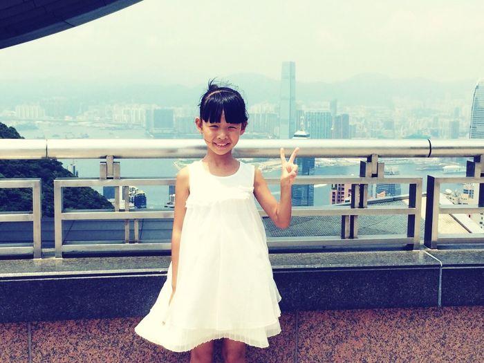 a little princess。 Hello World Hi! Enjoying Life Holiday Tour