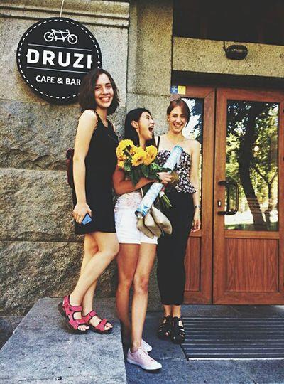 Druzi Meeting Friends Happy Birthday!