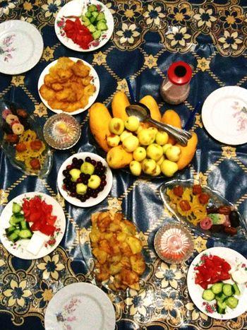 2th Eftar on Tuesday , Ramadan  Mubarak مبارک رمضان 😂😂