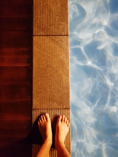 a swimming pool EyeEm JEJU ISLAND  Last Summer Blue Low Section Women Human Leg Summer Sunlight Standing Poolside Infinity Pool Foot Toe