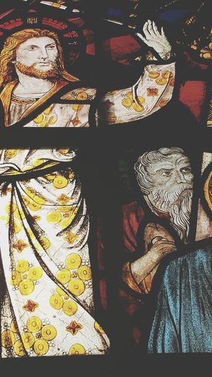 Indoors  Close-up No People Day History St Martin's Church Symbolic  Place Of Worship Religion Stained Glass Window