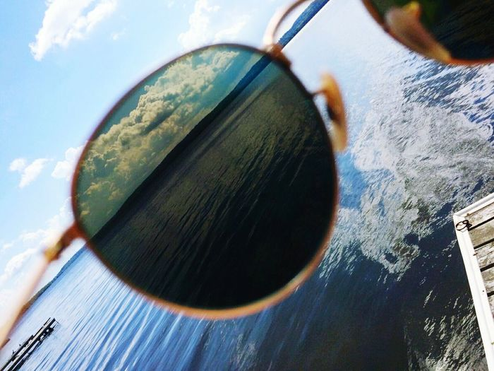 Canada Lake Sunglasses RayBans® Blue Sky The Great Outdoors - 2017 EyeEm Awards EyeEmNewHere