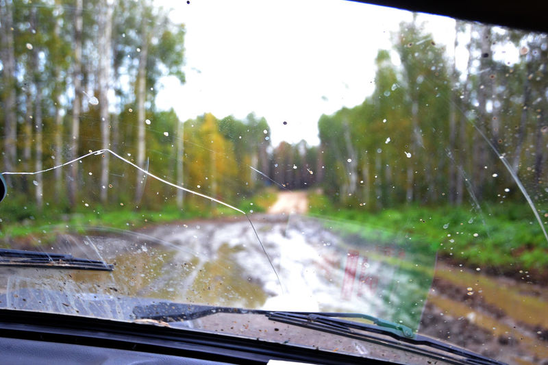On the way to the fishing. Tomsk region, Siberia, Russia Fishing Mode Of Transport Nature Russia Siberia Tomsk Region Transportation Vehicle Interior Weather Window Windshield