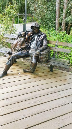 TRUE LOVE ❤ Statue Beauty In Nature EyeEmNewHere