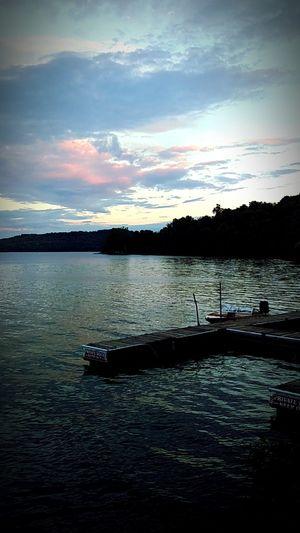 Beautiful Day at Seneca Lake Beautiful Day Peace Sunset