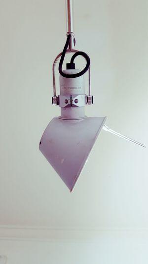 Metal Lamp Light Close-up