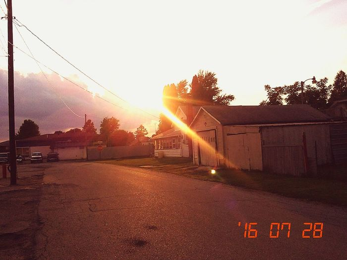 Relaxing Taking Photos Enjoying Life Hello World New Castle, Indiana Sunset