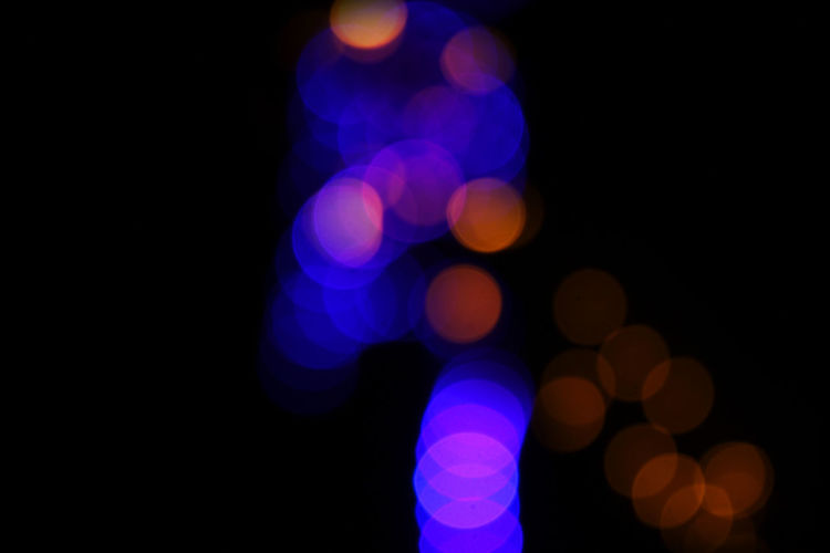 Feeling. Blue Citiy Colorful Fairy Lights Light Light Effect Montage Night No People Orange Color Outdoors