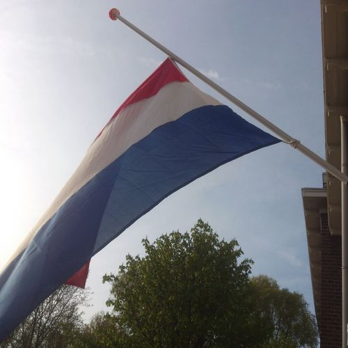 War Memorial 70 years ago Second World War Paece Flag