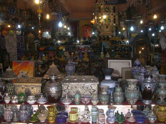 Aladdin's Cave - typical madina shop Aladdins Cave Antiques Arts And Crafts Bazaar City Composition Famous City Full Frame Illuminated Indoor Photography Large Group Of Objects Medina Morocco No People Shadow Shopping Side By Side Store Tangier Traditional Art And Crafts Traditional Culture Travel Photography Typical Shop Variation
