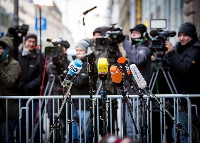 Waiting for Angela Merkel. Berlin Camera Work Channel Interview Mikrofon Politics Press Radio TV Station Tv Channel Crowd Fernsehsender Kamera Microphone Mikrophon Politics And Government Press Photography Presse Tv