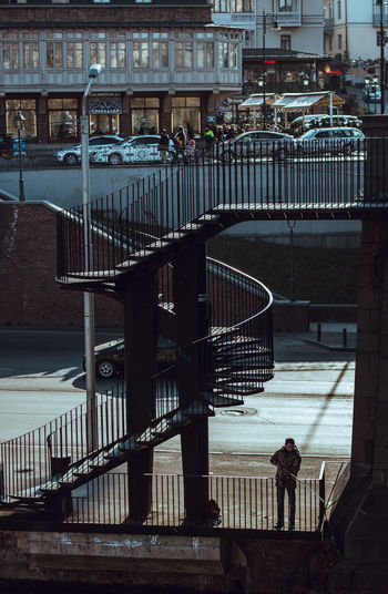 Camera - Canon 550D - Lens - 50 mm f/1.8 Blog : https://www.instagram.com/david_sarkisov_photography/ Architecture Built Structure Railing Building Exterior Real People Staircase City Day Steps And Staircases Men People Lifestyles Outdoors Connection Incidental People Full Length Leisure Activity Nature Women My Best Photo Analogue Sound Streetwise Photography