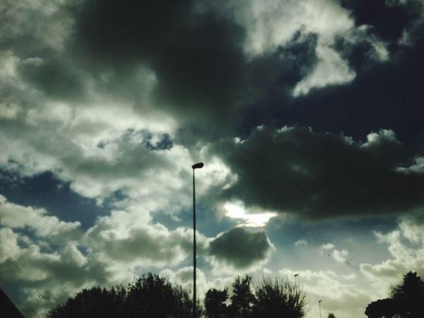 Nuvole Cielo E Nuvole