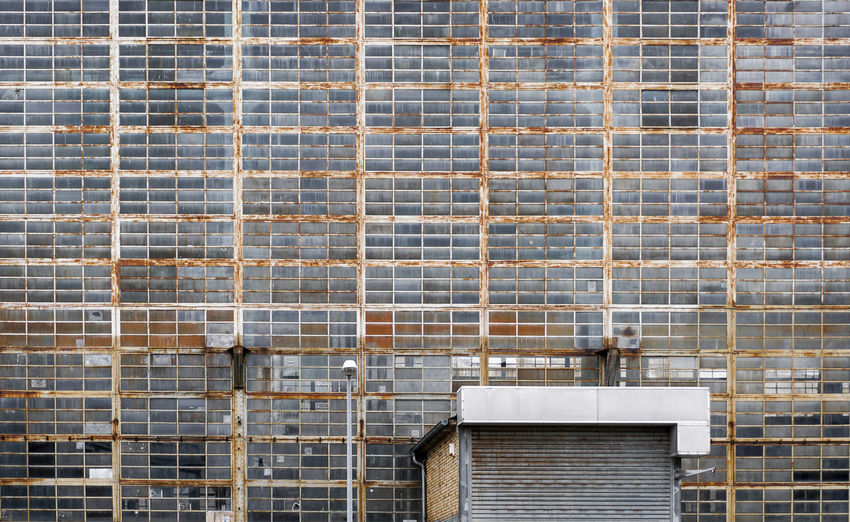 old industrial building in Berlin Architecture Built Structure Building Exterior Brick Brick Wall Wall Wall - Building Feature Day No People Pattern Outdoors Full Frame Building Window Tile Air Conditioner Old Rusty Industrial Abandoned