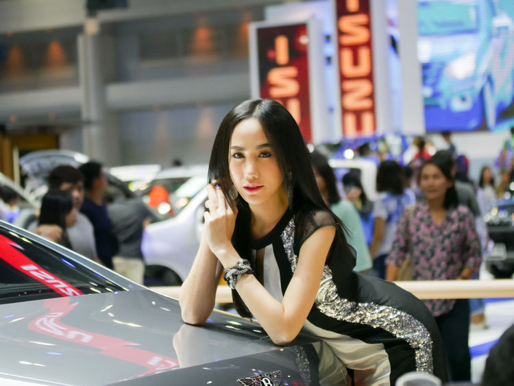 dec.3 2017 thailand motor expo 2017 impact challenger ASIA Portrait Of A Woman Thailand Asia Girl Beautiful Woman Car Incidental People Land Vehicle Leisure Activity Lifestyles Looking At Camera Motor Expo Motorshow One Person People Portrait Pretty Pretty Girl Real People Rollroyce Standing Transportation Women Young Adult Young Women
