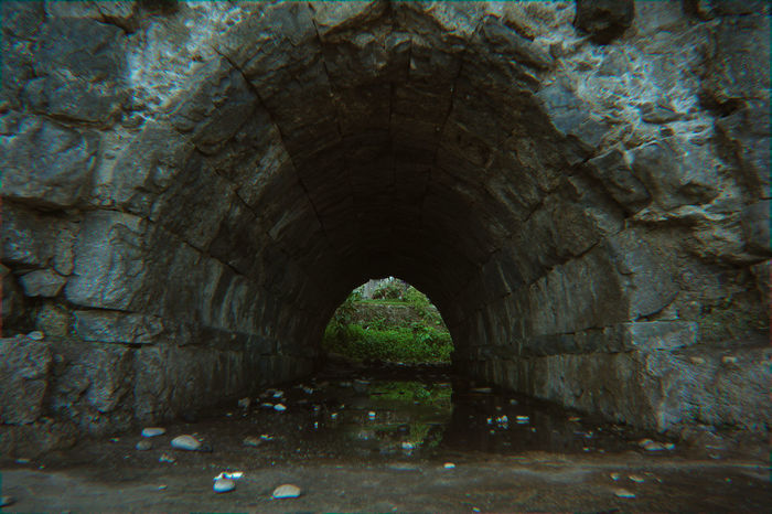 Spooky Spooky Dark Dark Tunnel Arch Tunnel Architecture Built Structure Stone Material Stone Wall Horror Halloween Zombie Ghost Fortified Wall