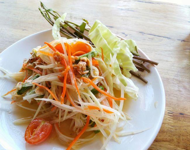 Thai food EyeEm Selects Plate High Angle View Close-up Food And Drink Greek Salad Salad