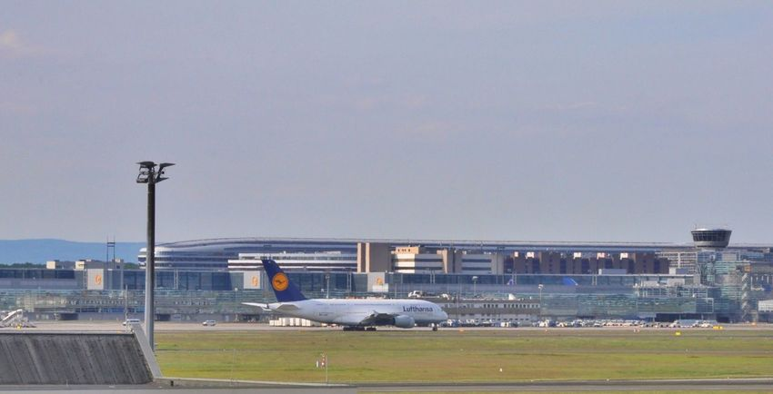 Lufthansa Airport Frankfurt Am Main Frankfurt Airport A380 A380 Lufthansa Taxiing Lufthansa A380