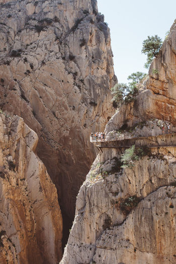 Caminito del Rey, Andalucia, Spain Adventure Andalucía Andalusia Ardales Bridge Bridge - Man Made Structure Caminito Del Rey Day Malaga Mountain View Mountains Nature Outdoors Path Railing SPAIN Go Higher