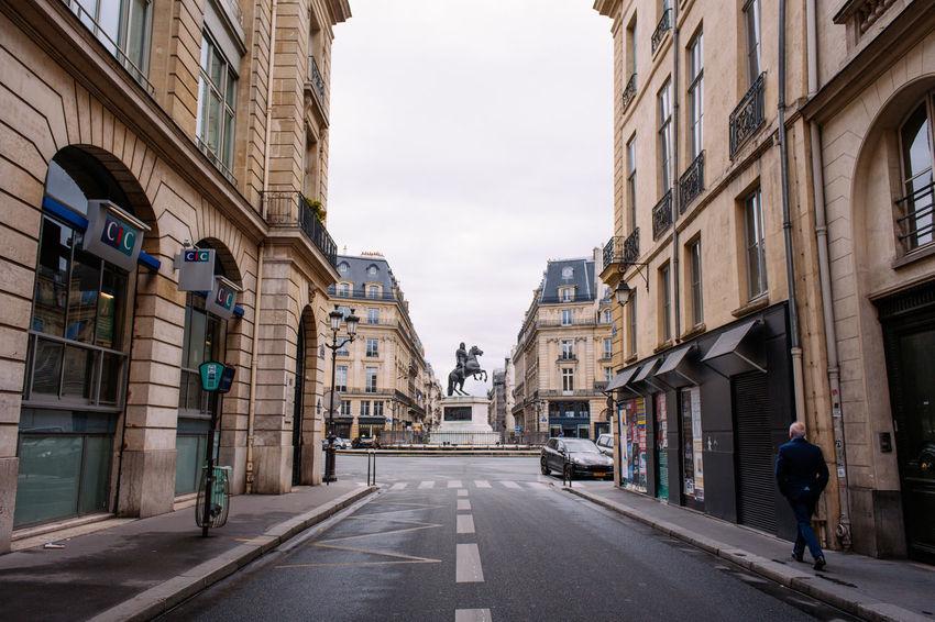 Paris morning walk - Statue of Louis XIV Architecture City Exploring France Lifestyles Louis XIV Paris Parisian Statue Street Urban