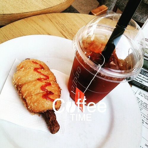 TOUSlesJOURS Indochina Afternoon Teaenglish Frankdonut Coffeetime Sonice Goodday Loveit Lovecoffee Lovely Great Delicious🍹🍹🍰🍰