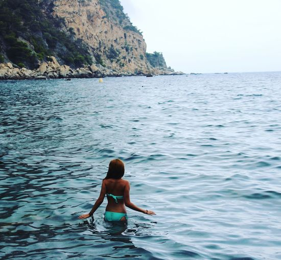 Water Swimming Sea Child Beach Shirtless Summer Sky Bikini Beach Holiday Shore Horizon Over Water Calm Ankle Deep In Water Swimwear Ocean This Is Strength Moments Of Happiness Analogue Sound Exploring Fun The Traveler - 2019 EyeEm Awards