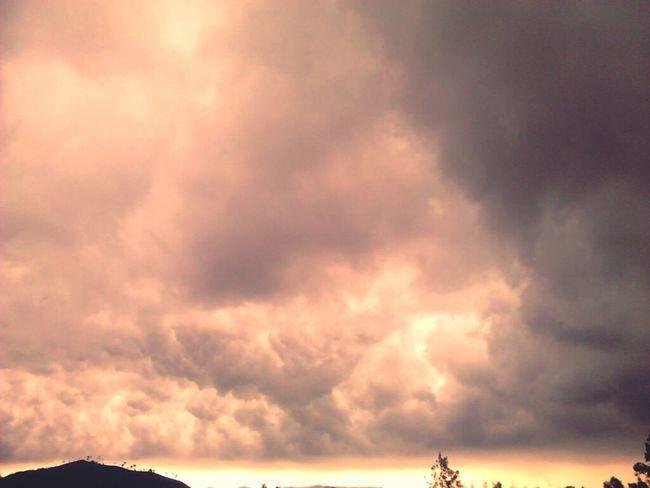 Strange Cloud .!!