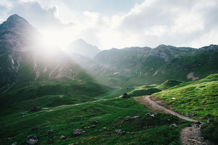 Alpen Alpenüberquerung Austrian Alps Hiking Wanderlust Alpenwelt Alps Crossing The Alps