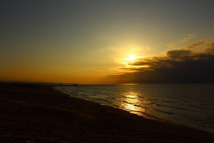 Sunset Ocean 鳥取砂丘