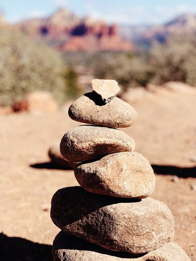 Zen Rock Nature Stack Land Solid Focus On Foreground Sunlight Tranquility Day Beach Close-up Sunny Rock - Object Balance Stone - Object Stone No People Sand Outdoors Sky