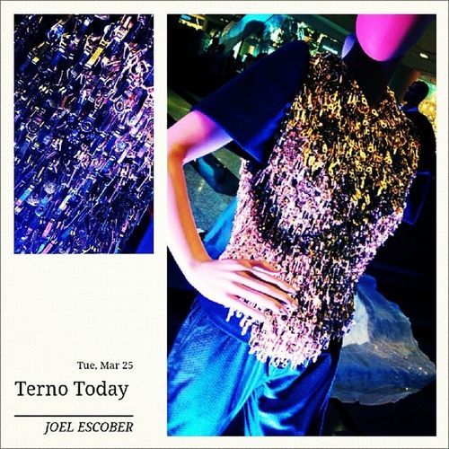 Terno Today: An Exhibition at Glorietta Mall, Makati Terno Couture Butterflysleeves Ykkzippers manila philippines