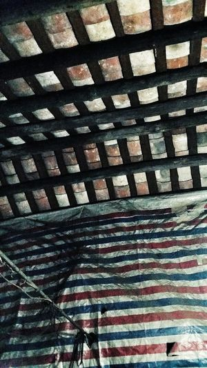Ceiling of Mother's Childhood Home Village Jiangmen Guangdong China Travelphotography