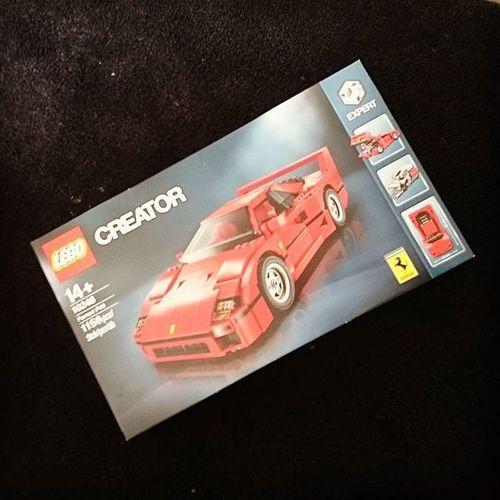 Ferrari F40 LEGO Creator  10248 Ferrarif40 Legende Toy Männerspielzeug Dreamcars Legos Brick Bricks Legomania Racecar
