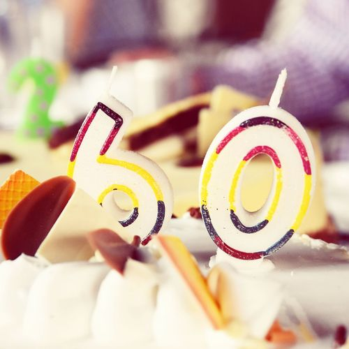 HappyBirthday Happy Birthday! 60th Birthday 60th Celebration 60thanniversary Cake Dinner Table Restaurant Dinner Time