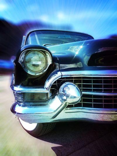 Classic Old Kanton Glarus Cadillac Car