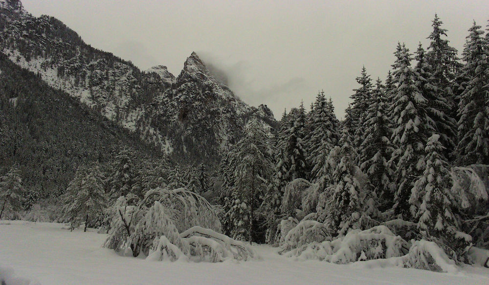 Val Pusteria Background Cold Temperature Frozen Mountain Scenics Snow Tranquil Scene Tranquility White