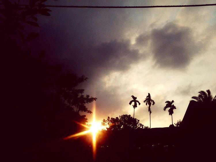 waiting for dark... Enjoying Life