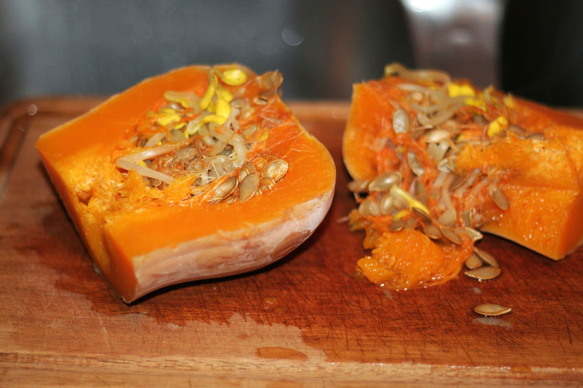 Seeds Butternut Close-up Day Food Food And Drink Freshness Germinated Seeds Germination Healthy Eating Indoors  No People Orange Color Ready-to-eat Seeds, Nutrition, Food, Health, Healthy, Oil, Sunflower Oil Squash