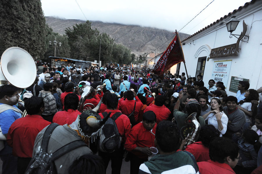 Andes Dancing Music Architecture Argentina Building Exterior Built Structure Crowd Day Large Group Of People Men Mountain Outdoors People Real People Sky Standing Tilcara Women