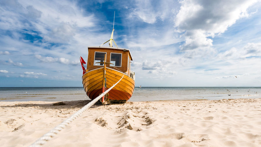 Beach Beauty In Nature Cloud - Sky Day Horizon Over Water Nature Nautical Vessel No People Outdoors Sand Scenics Sea Sky Tranquil Scene Tranquility Water