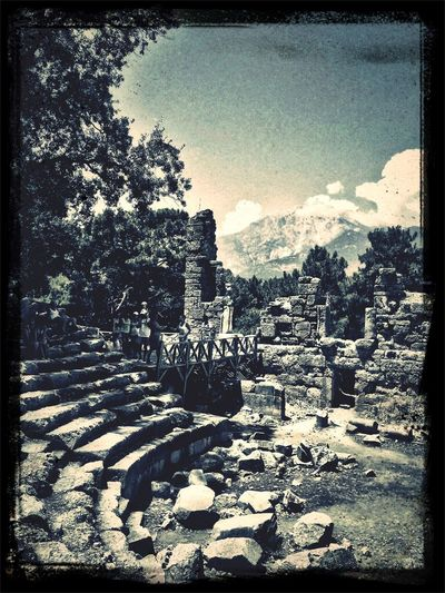 Phaselis Old Cities Antalya Antik Theater