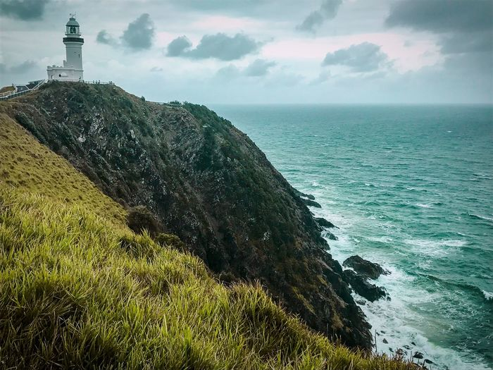 From A Dream Lighthouse Australia Byron Bay Sea Water Sky Scenics - Nature Beauty In Nature Horizon Over Water Nature Cloud - Sky Beach Land Horizon Tranquil Scene Tranquility Day Outdoors No People Idyllic Built Structure Architecture