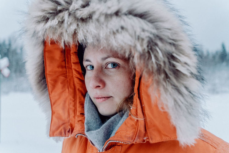 The Great Outdoors - 2018 EyeEm Awards The Portraitist - 2018 EyeEm Awards The Traveler - 2018 EyeEm Awards Close-up Clothing Cold Temperature Extreme Weather Finnland Fur Hat Headshot Ice Looking At Camera Outdoors Portrait Snow Snowing Travel Destinations Warm Clothing Winter