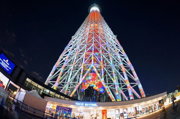 Illuminated Low Angle View Architecture Christmas Tokyo Sky Tree Night Lights Projection Mapping Cityscape Lieblingsteil The City Light EyeEmNewHere Break The Mold TCPM Art Is Everywhere The Portraitist - 2017 EyeEm Awards The Photojournalist - 2017 EyeEm Awards The Great Outdoors - 2017 EyeEm Awards The Architect - 2017 EyeEm Awards The Street Photographer - 2017 EyeEm Awards Neighborhood Map