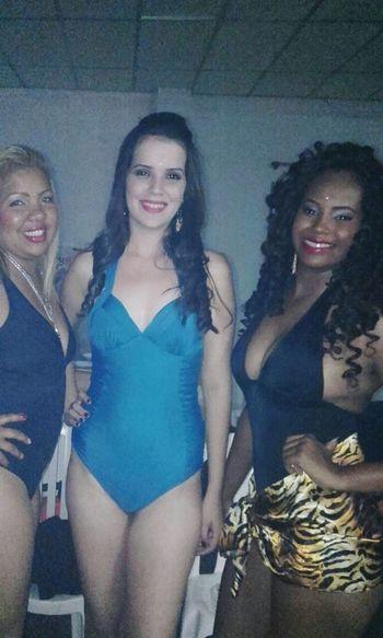 Lindas Vivian and Ana Paula Sandrete. Miss servidora pública 2015