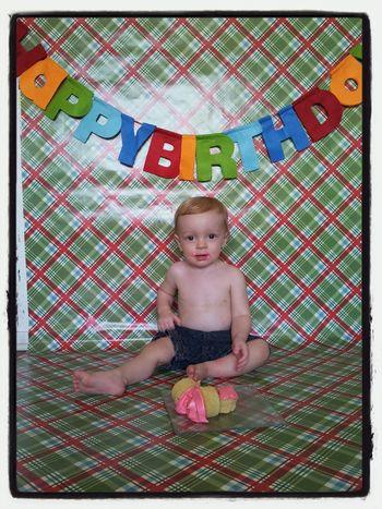 Happy First Birthday! Love My Son