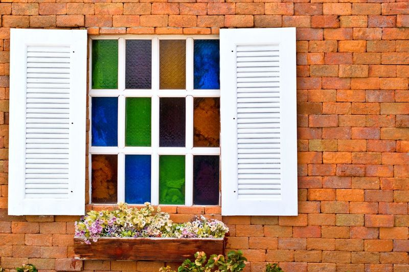 window beautiful for background EyeEm Selects Window Architecture Multi Colored Outdoors Day Building Exterior No People