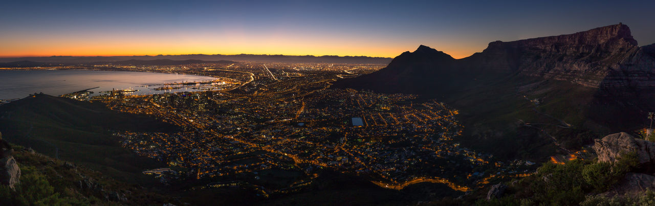Sunrise at Lionshead City Morning Light Morning Sky Panoramic Skyline South Africa Travel View Africa African Beauty Beauty In Nature Capetown Capetown South Africa Citylights Landscape Lionshead Lionsheadpeak Mountain Nature Outdoors Panoramic Photography Peak Rock Sunrise Vacation EyeEmNewHere