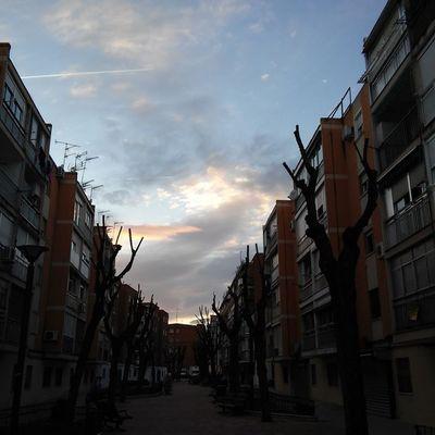 Saliendo a tomar aire. Leganés Madrid