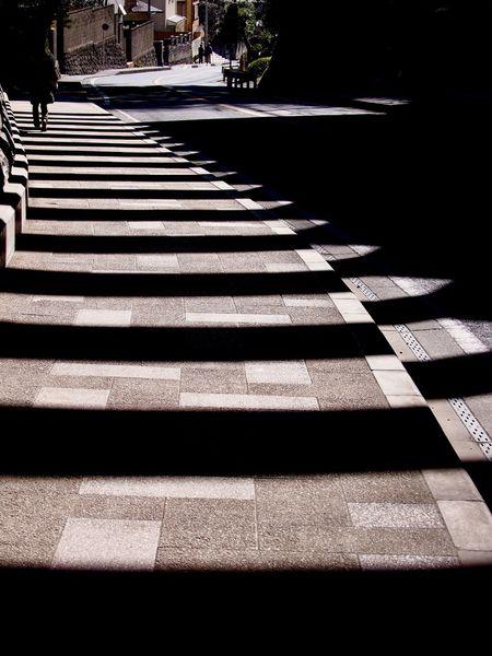 Road Roadside Lines Shadow Shadows Shadows & Lights The City Light